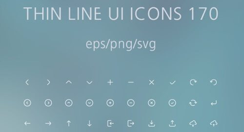 Thin Line UI Icons 170.