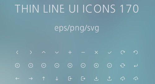 Thin Line UI Icons 170.