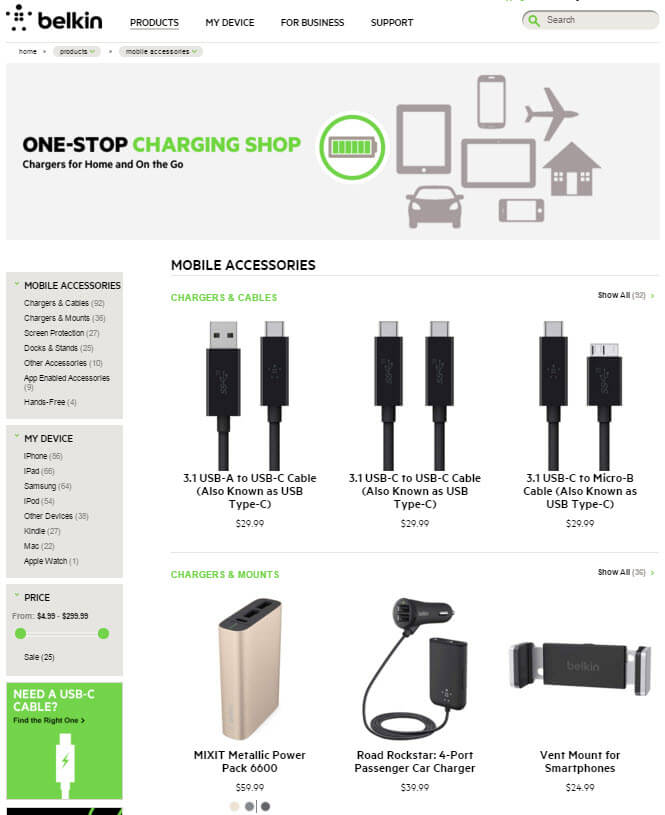 Belkin hypes accessories