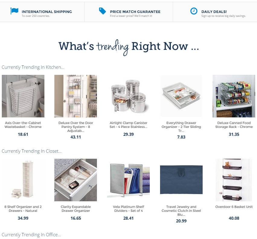 Organization.com Trending Items