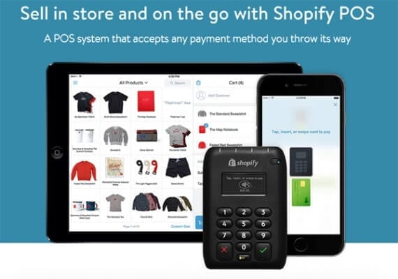 Shopify offers an ecommerce platform and a POS solution that can share data. It is one of several companies offering this sort of service.