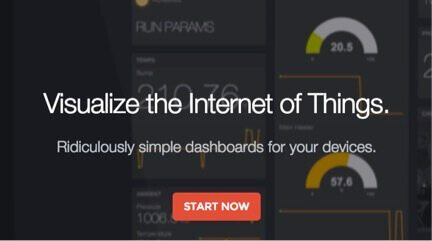 Freeboard offers easy to use dashboards for visualizing IoT data.