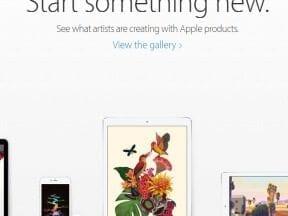Headline at Apple.com