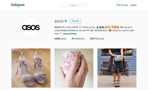 ASOS on Instagram.
