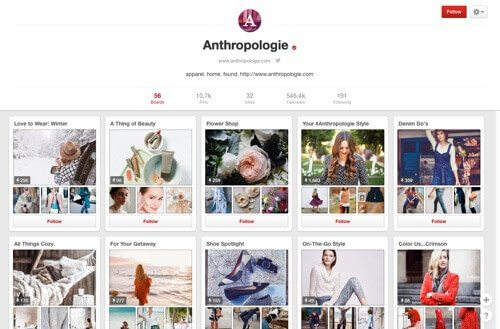 Anthropologie on Pinterest.