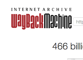 how to use the wayback machine