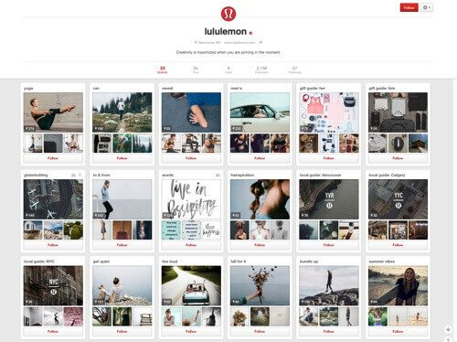 Lululemon on Pinterest.