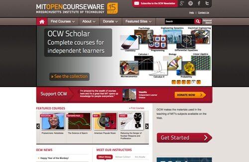 MIT OpenCourseWare.