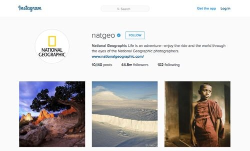 National Geographic on Instagram.