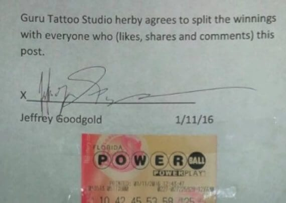 Generating traffic to an ecommerce site is helpful only if that traffic produces sales. A tattoo company in Florida created much worldwide likes and shares with its Powerball-winnings offer. But it likely produced nocustomers.