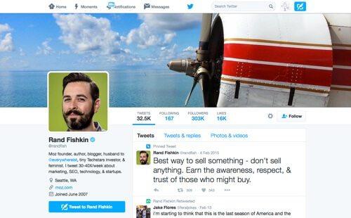 Rand Fishkin on Twitter.