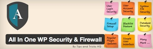 All In One WP Security & Firewall.