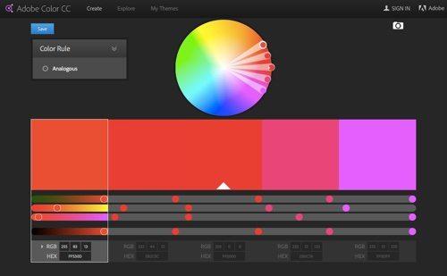 Adobe Color CC.