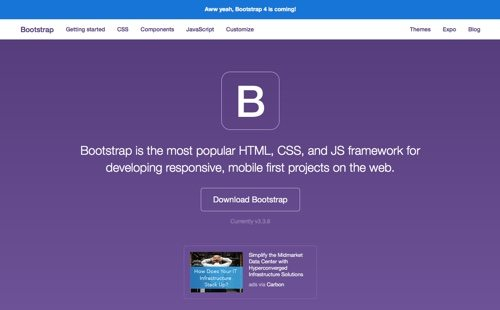 Bootstrap.