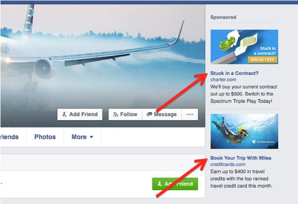 how to change the facebook ads i see