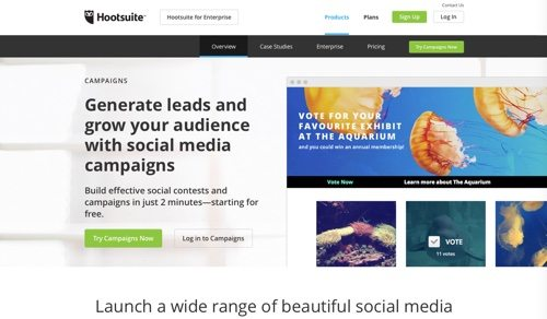 hootsuite social sweepstakes 11 platforms for social media contests practical ecommerce 3899