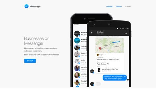 Messenger for Business.