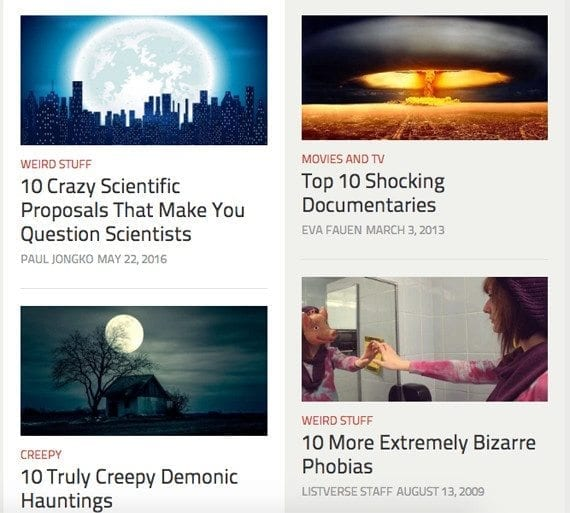 Mystery-theme listicles are one of many content marketing ideas for June 2016.