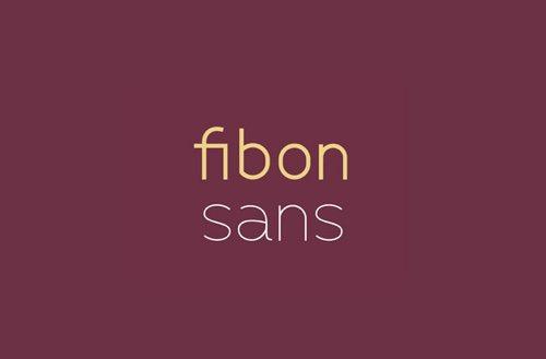 Fibon Sans.