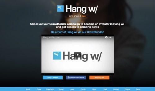 Hang w/.