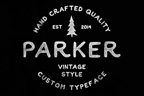Parker Font.