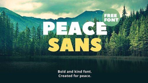 Peace Sans.
