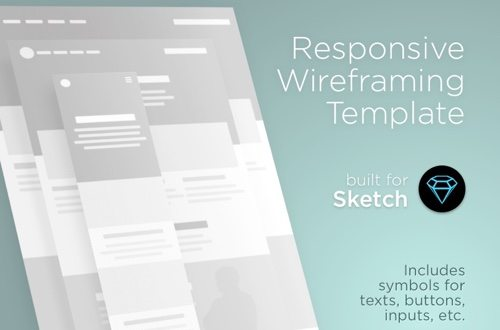 Responsive Wireframe Template.