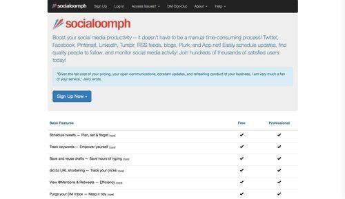 SocialOomph.