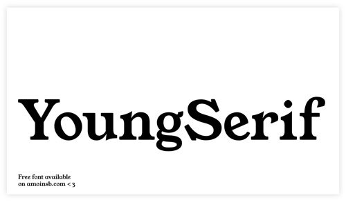 Young Serif.