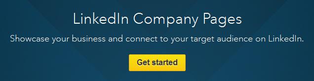 LinkedIn company page setup.