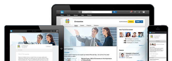 LinkedIn company pages can help expose a business to followers and prospects.
