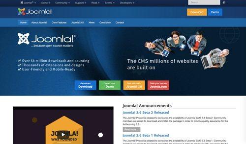 Joomla.org.
