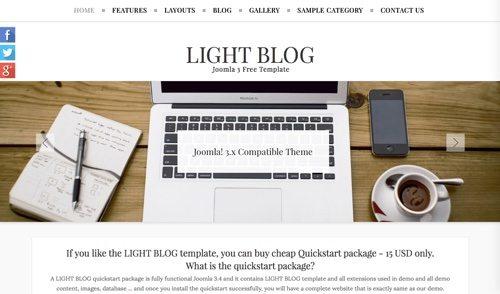 Light Blog.