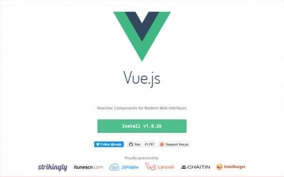 Vue.js is a powerful JavaScript framework for modern site development.