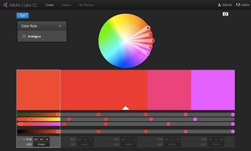 Adobe Color.