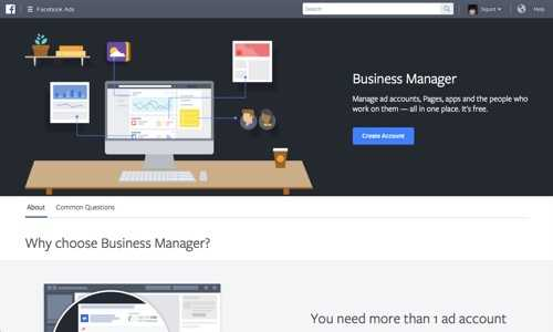 Facebook Business Manager.