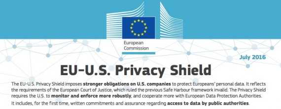 The new E.U.-U.S. Privacy Shield protects personally-identifiable information about E.U. consumers and allows U.S. companies to again collect personal information without fear of liability. <em>Click image to download PDF.</em>