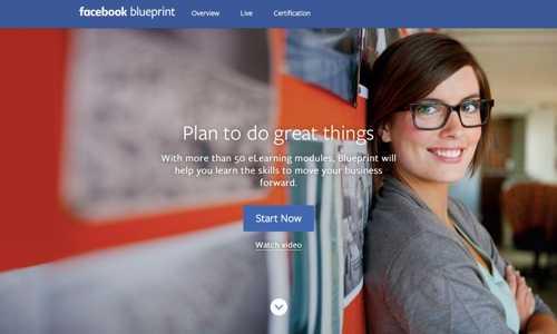 Facebook Blueprint.