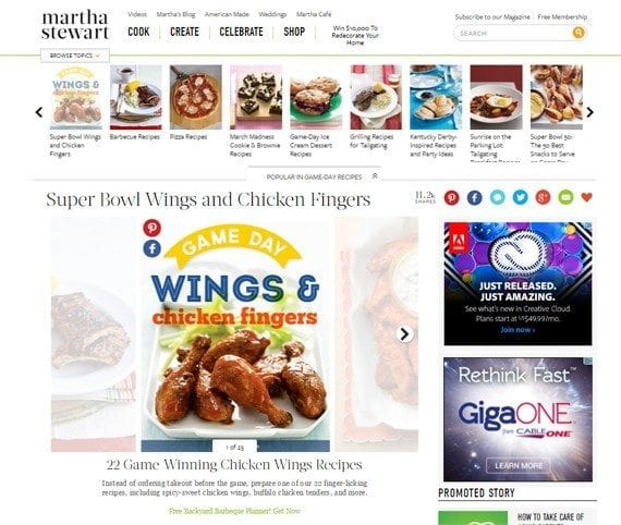 By way of comparison, would it be appropriate for the NFL to stop Martha Stewart from publishing Super Bowl chicken wing recipes?
