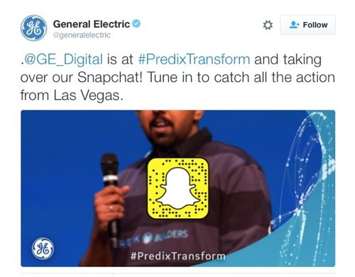 General Electric on Twitter.