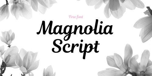 Magnolia Script.