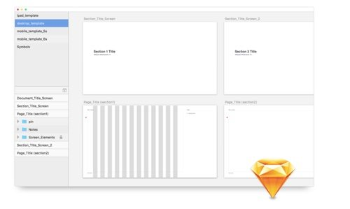 Starter Wireframe Templates.