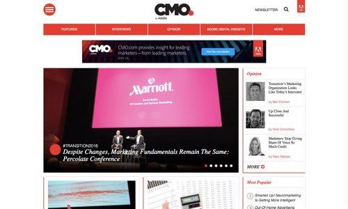 Adobe CMO.
