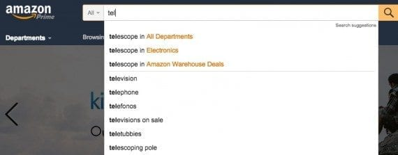 Without ARIA, autocomplete fields, such as this example from Amazon, are extremely difficult for screen-reader users.