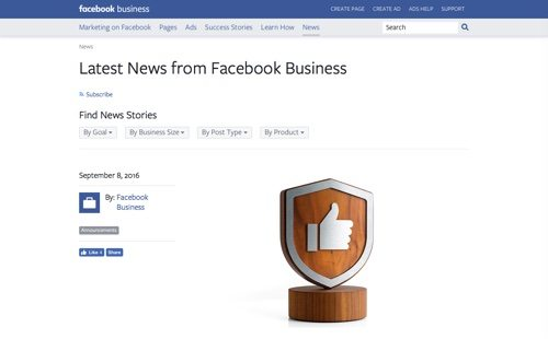 Facebook Business.