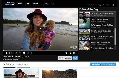 GoPro Channel.