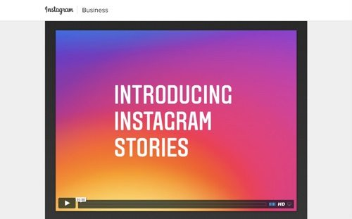 Instagram Business.