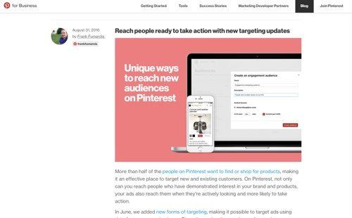 Pinterest Blog.