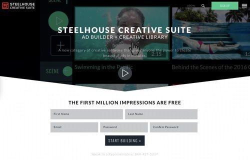 SteelHouse Creative Suite.
