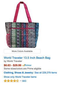 "If ""beach bag"" is a term that consumers actually use in searches, title your product ""beach bag"" instead of ""tote bag."""